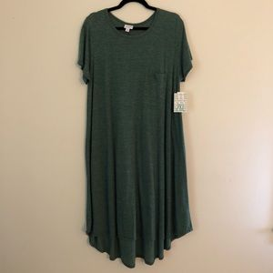 Heathered Green Carly - NWT